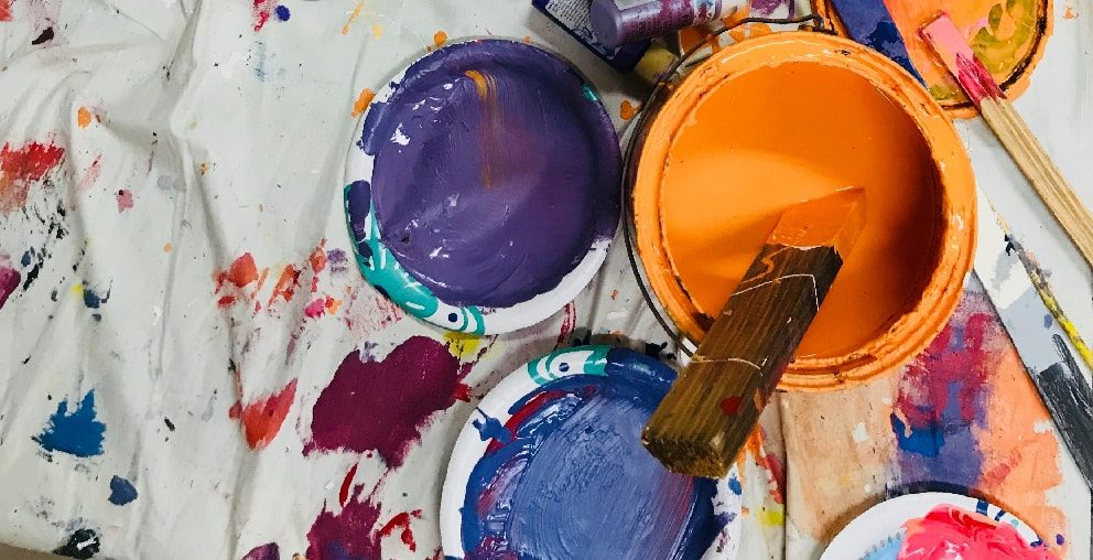Maling spann i ulike farger