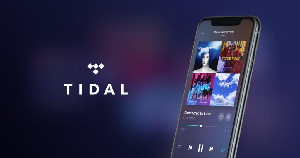 Tidal logo og mockup