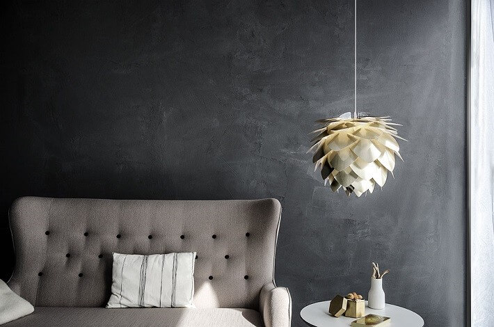 gull kongle lampe