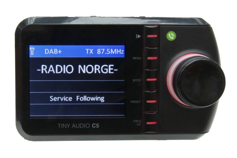 Tiny audio dab adapter