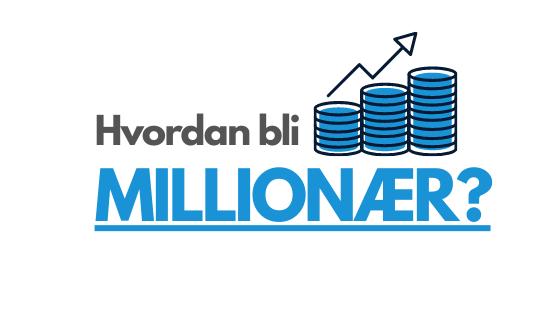 Hvordan bli millionær - illustrasjon