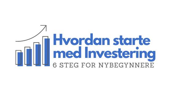 Hvordan investere penger - header