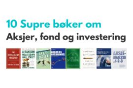 bøker om aksjer - aksjefond - investering - header