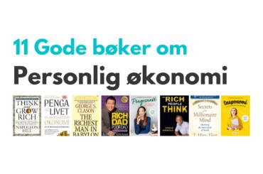 Bøker om personlig økonomi - header bilde