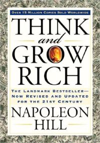 think and grow rich - bok